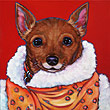 Memorial pet painting of Effie, from Springfield, Missouri